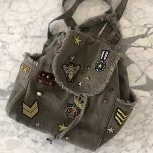 Steve Madden 'Wilson' patched backpack